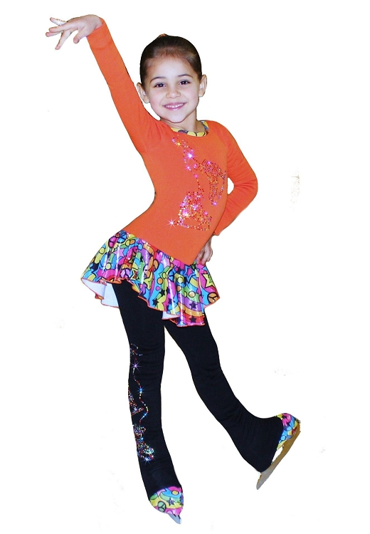 Quot Rainbow Skates Quot Ice Skating Outfit Gift Set