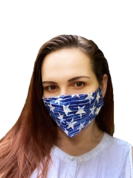 Protective Mask  (Wavy Stars) - Pack of 3