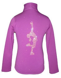 Purple Ice Skating Jacket with