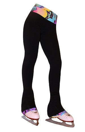 Venetta Fit Polartec Figure Skating Pants - Butterfly Fusion