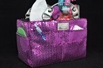 "Kiss & Cry Rink Tote ""Jazzy"" - Amethyst"