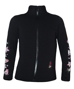 "Ice Skating Jacket with ""Fun Skate""  Design"