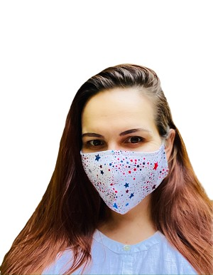 Protective Mask  (Holiday Spark) - Pack of 3