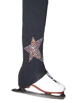 "Ice Skating Pants with ""Star"" applique"