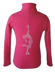 Pink Ice Skating Jacket with