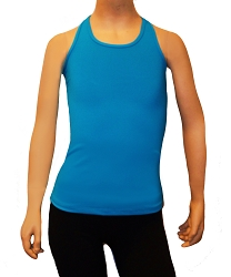 Ice Skating Tank Top - Turquoise